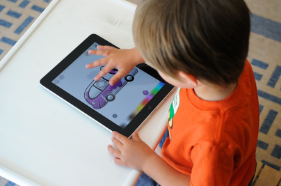 iPad-and-autistic-children